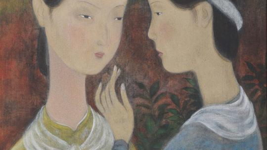 Vu Cao Dam : painter or sculptor ?