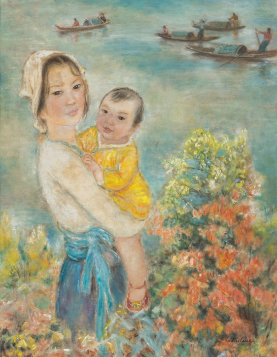 « Mother and Child » - Le Thi Luu