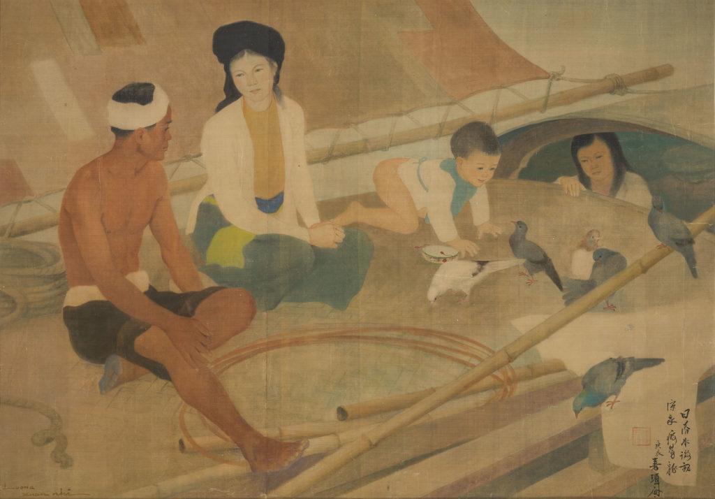 Luong Xuan Nhi - Fisherman's Family