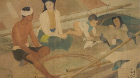 Luong Xuan Nhi – Fisherman's Family. 1940.