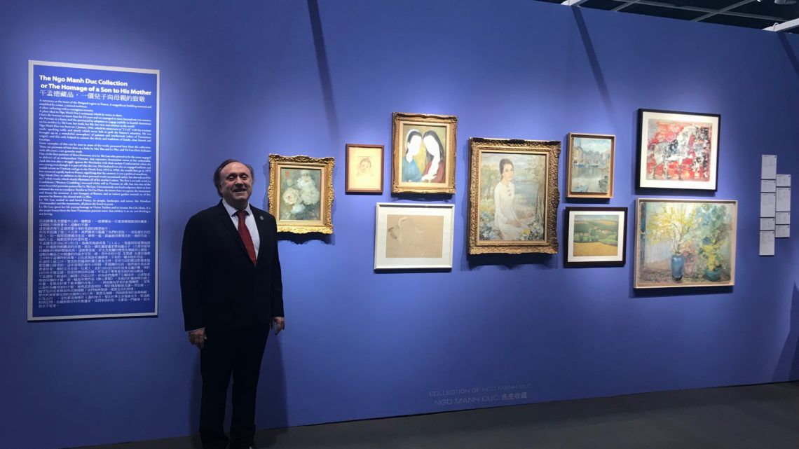 2019: the year of all records for Vietnamese art at Christie's Hong Kong