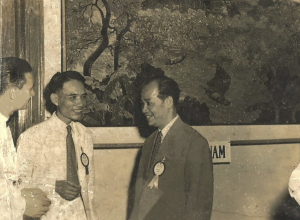 Pham Hau in 1953