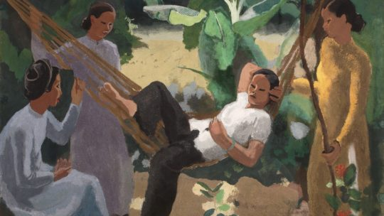 Joseph Inguimberty – « Woman in a Hammock ». 1940