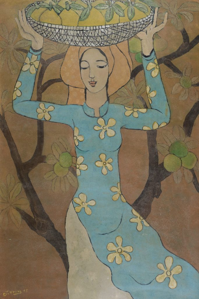 Nguyen Trung - Lady With Pomelos