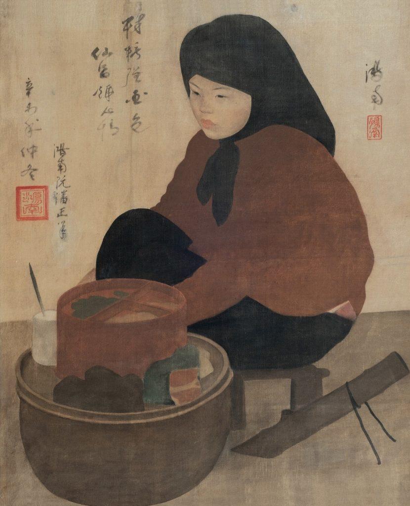 « The Betel Nut Seller » - Nguyen Phan Chanh. 1931