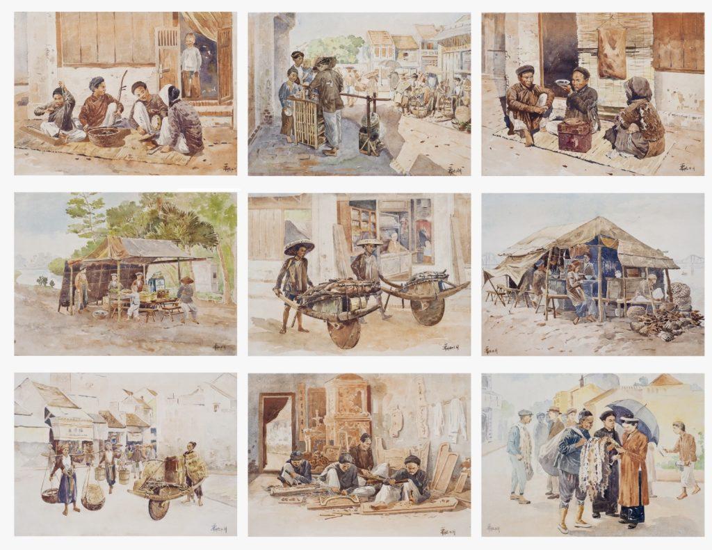 Watercolors by Thang Tran Phenh
