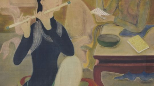 """""""Le Concert"""" by Le Pho – 1938. Or """"the reality is not the subject"""""""