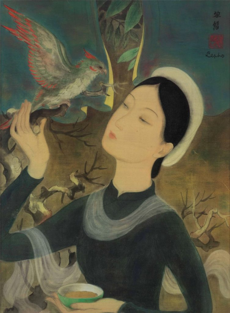 Le Pho - « The Woman with the Parrot »