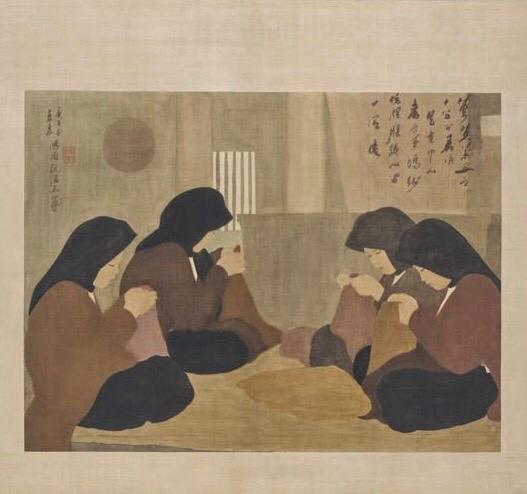 Les couturières, 1930: Nguyen Phan Chanh or the epicurean of simplicity