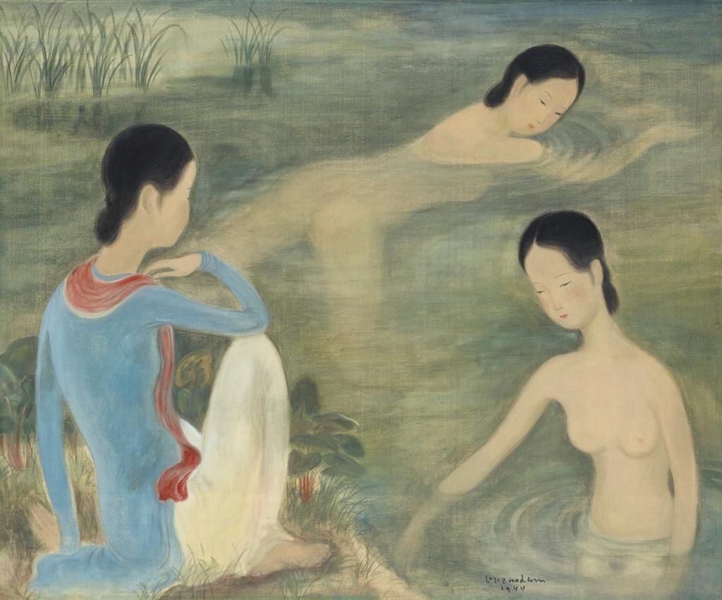 Vu Cao Dam - Femmes au bain