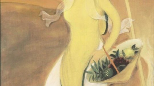 Le Pho, circa 1937: « La Femme en Jaune »  or the journey is a demiurge.