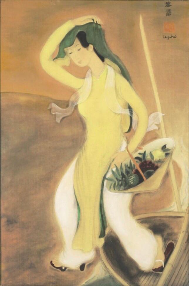 Le Pho - « La femme au voile blanc »
