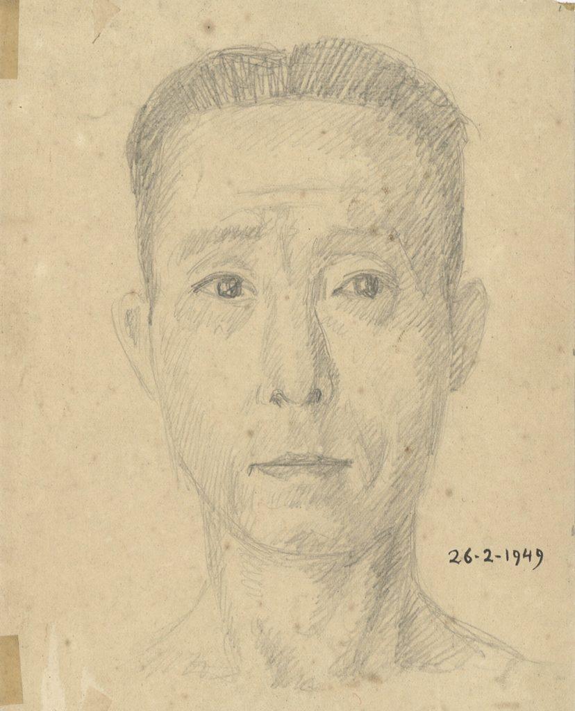 Tran Quang Tran - Autoportrait (1949)