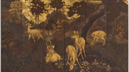"Pham Hau, 1938. ""Stags and hinds in the middle region"" or when the real cannot be realistic"
