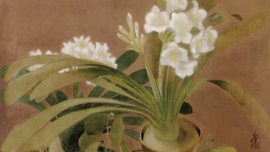 le Pho – Les Amaryllis, 1934. A flower is also a flag