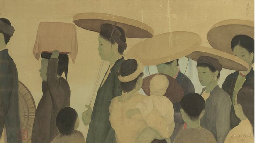 Nguyen Phan Chanh, 1937 « La Marche Nuptiale » or weariness in the step