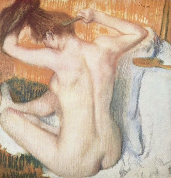 «Après le bain»  Edgar Degas, 1884