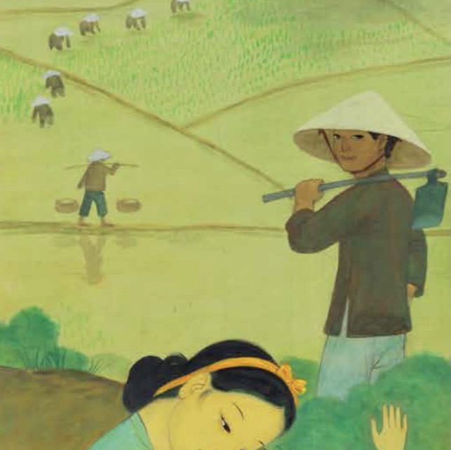 Mai Thung Tru, « L'Aube Nouvelle », 1974,  Or geography no longer makes history