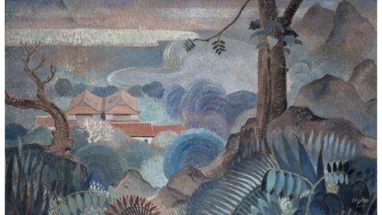 Le Pho : « Paysage du Tonkin » – 1937