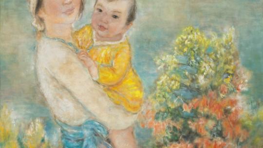 « Mère Et Enfant » de Le Thi Luu
