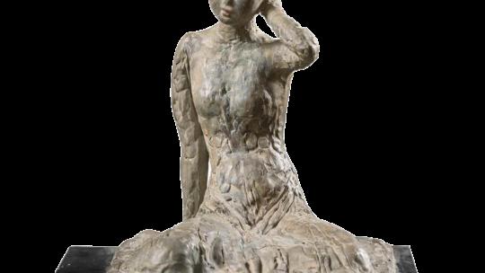 Vu Cao Dam «Jeune femme assise» – 1940-45
