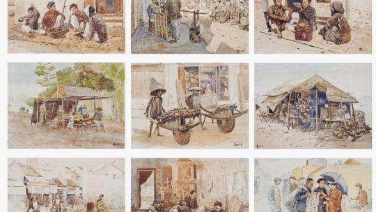 Thang Tran Phenh (1895 – 1972) : l'illustrateur et le « passage du gué ».