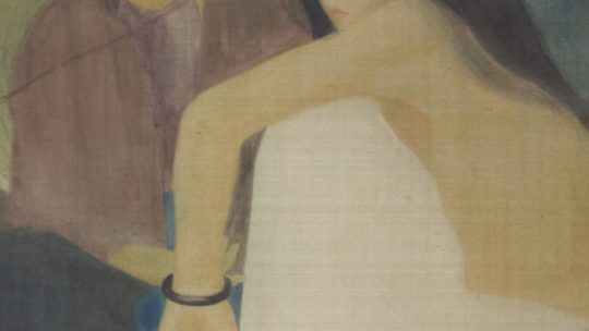Les « Trois Jeunes Femmes » par Luong Xuan Nhi, 1936.