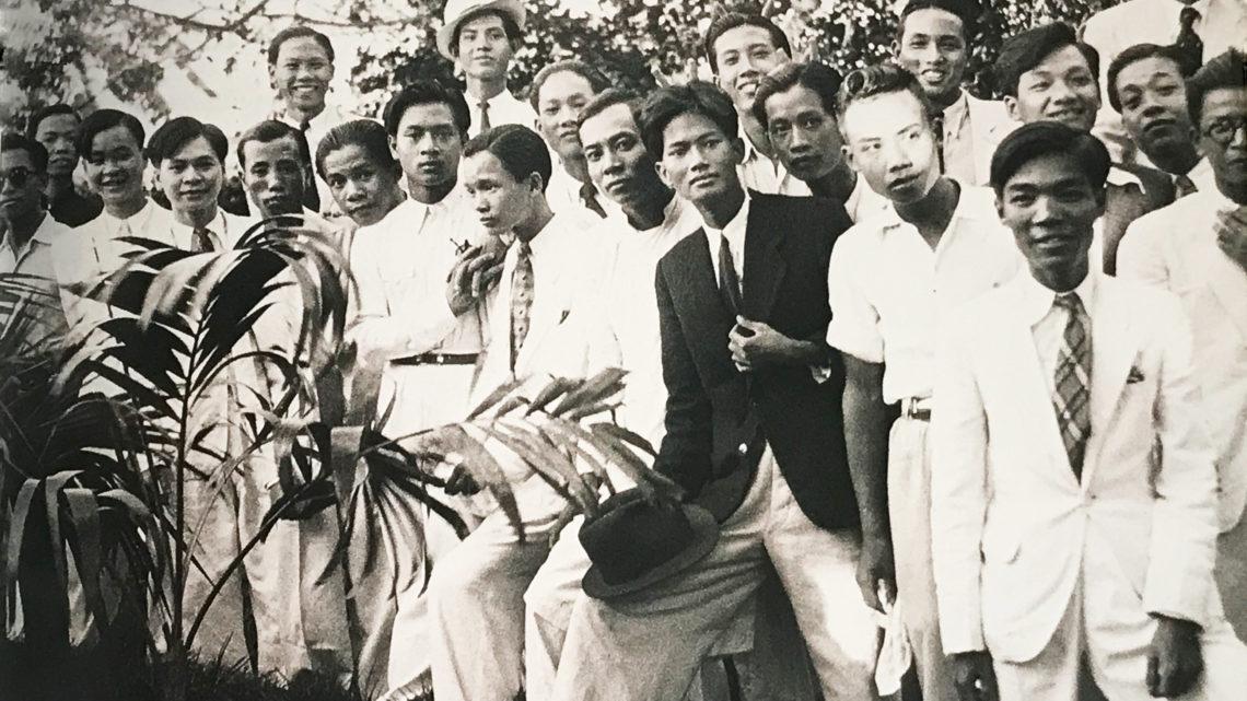 The Class List Of Students At The École Des Beaux-Arts D'Hanoi 1925-1945