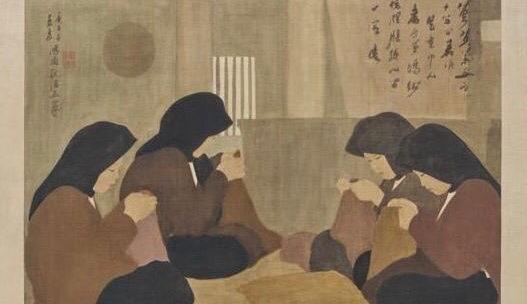 Les Couturières, 1930 : Nguyen Phan Chanh ou l'épicurien de la simplicité