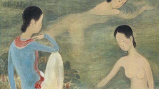 Vu Cao Dam: Femmes au Bain, 1944, or the exultation of the body