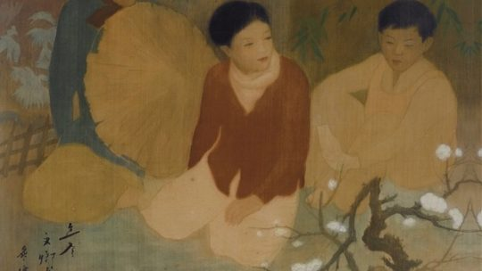 """Luu Van Sin, 1937: """"Resting On The Way To The New Year Market"""" Or Walk. But Where?"""