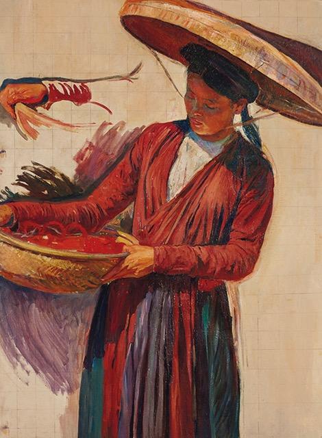 « La Vaccination » ; « La Tonkinoise » ; « La Vietnamienne A l'Enfant ». Victor Tardieu. c.1925