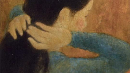 Vu Cao Dam, 1951, «Jeune Femme à sa Coiffure» ou Anna n'est plus Anna