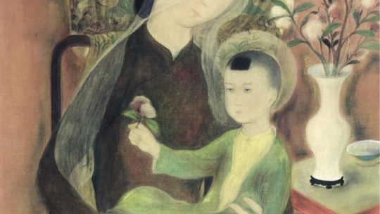 Le Pho, The Virgin Mary and the Child Jesus, circa 1938, or an european construction